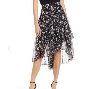 Eliza j asymmetrical skirt